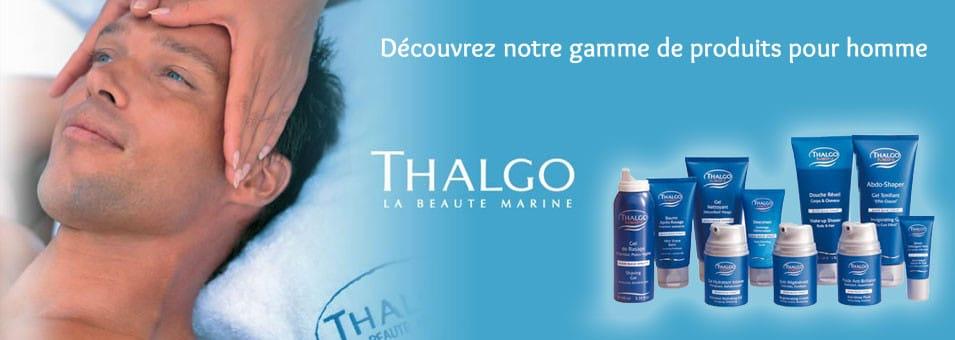 Soins pour hommes au Luxembourg - Institut de beauté P'Osez, soin Thalgo