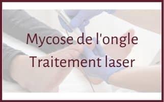 Traitement contre la mycose de l'ongle
